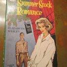 Summer Stock Romance Paperback