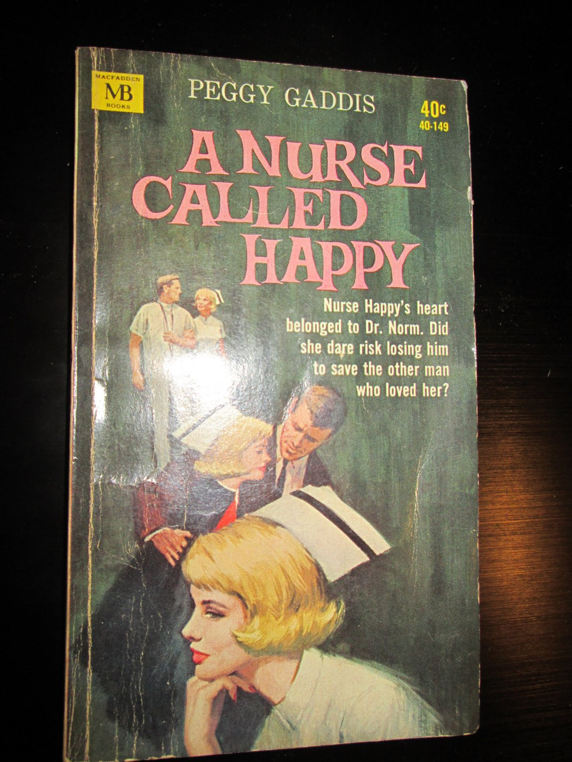 A Nurse Called Happy by Peggy Gaddis