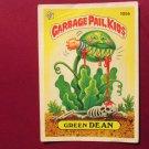 Garbage Pail Kids (Trading Card) 1986 Green Dean #105b