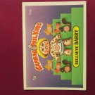 Garbage Pail Kids (Trading Card) 1986 BullsEye Barry #111b