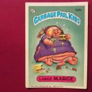 Garbage Pail Kids (Trading Card) 1986 Large Marge #122b