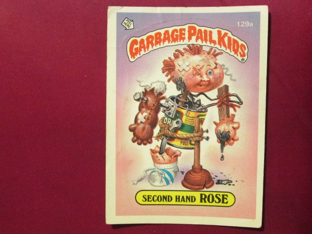 Garbage Pail Kids (Trading Card) 1986 Second Hand Rose #129a