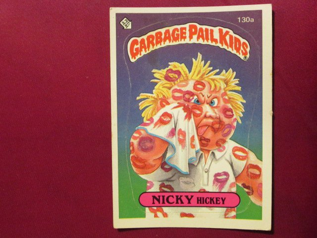 Garbage Pail Kids (Trading Card) 1986 Nicky Hickey #130a
