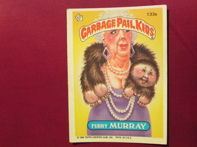 Garbage Pail Kids (Trading Card) 1986 Furry Murray #133a