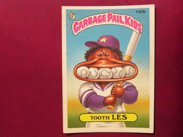 Garbage Pail Kids (Trading Card) 1986 Tooth Les #140b