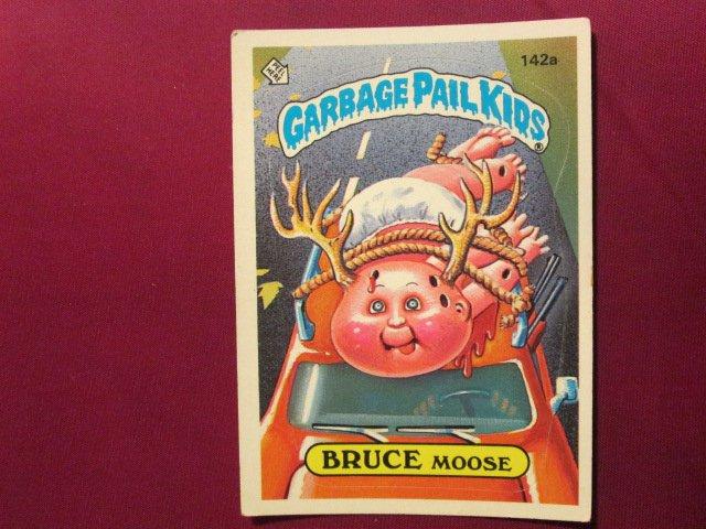 Garbage Pail Kids (Trading Card) 1986 Bruce Moose #142a