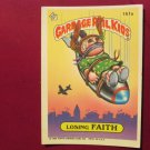 Garbage Pail Kids (Trading Card) 1986 Losing Faith #151a