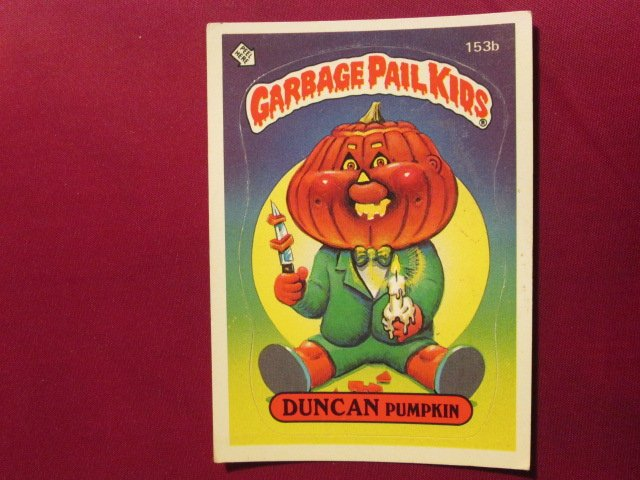 Garbage Pail Kids (Trading Card) 1986 Duncan Pumpkin #153b