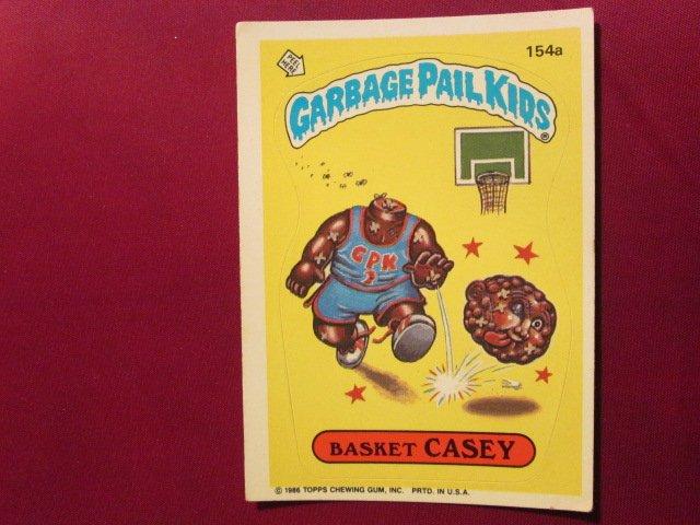 Garbage Pail Kids (Trading Card) 1986 Basket Casey #154a