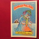 Garbage Pail Kids (Trading Card) 1986 Crystal Gale #158b