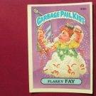 Garbage Pail Kids (Trading Card) 1986 Flakey Fay #165b