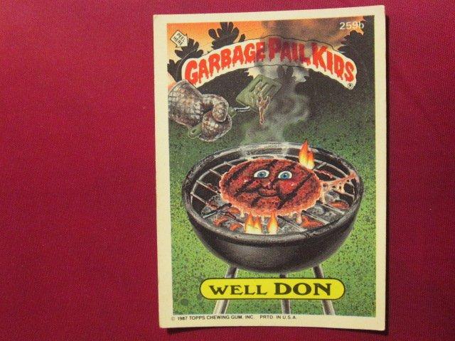 Garbage Pail Kids (Trading Card) 1986 Well Don #259b