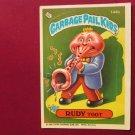 Garbage Pail Kids (Trading Card) 1986 Rudy Toot #144b