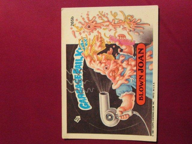 Garbage Pail Kids (Trading Card) 1986 Blown Joan #265b
