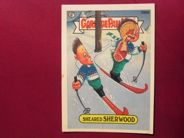 Garbage Pail Kids (Trading Card) 1986 Sheared Sherwood #398b