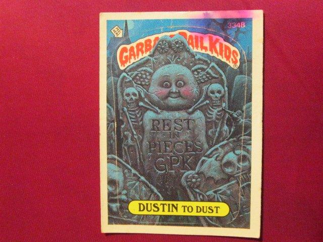 Garbage Pail Kids (Trading Card) 1986 Dustin To Dust #364b