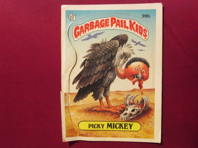 Garbage Pail Kids (Trading Card) 1986 Picky Mickey #99b