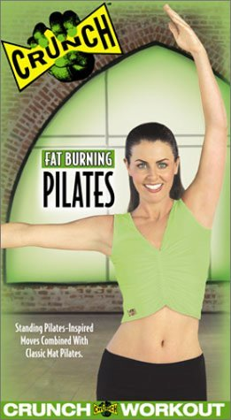 Crunch - Fat Burning Pilates [VHS] [VHS Tape] [2003]