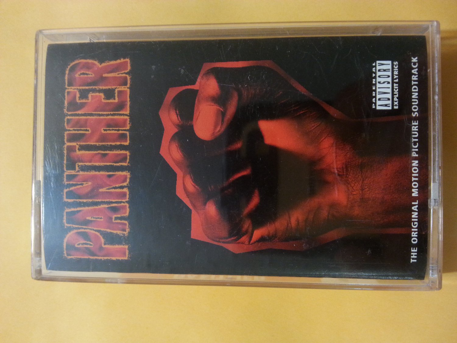 Panther Original Motion Picture Soundtrack Cassette Tape
