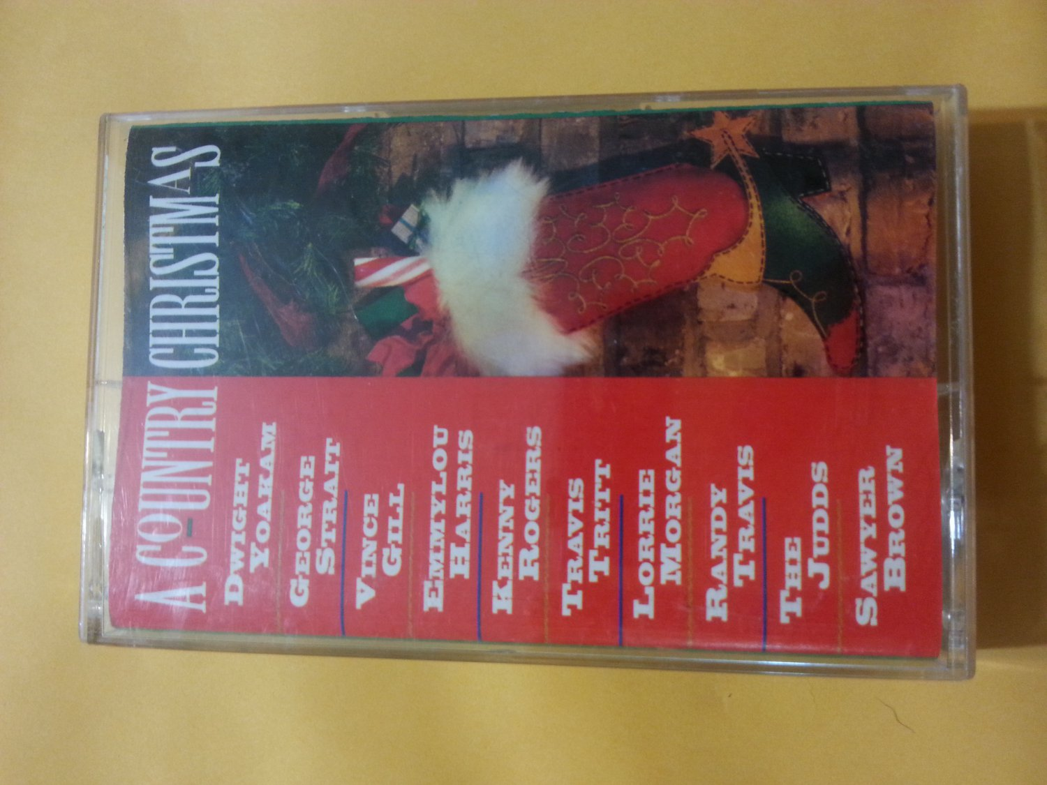 A Country Christmas Cassette