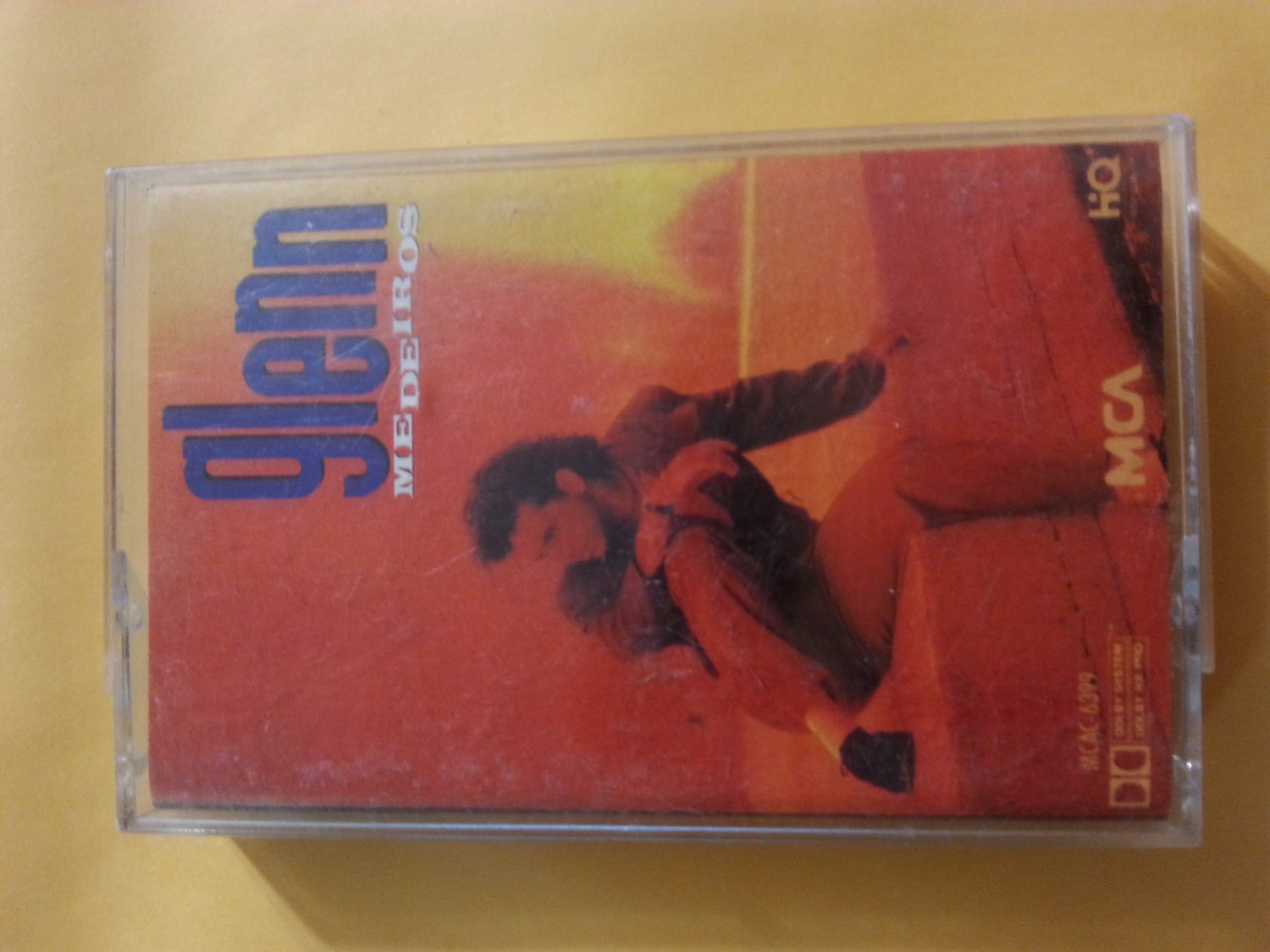 Glenn Medeiros Self Titled Cassette Tape