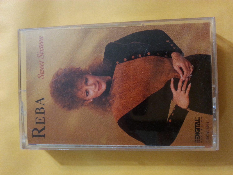1989 Reba McEntire Sweet Sixteen Cassette