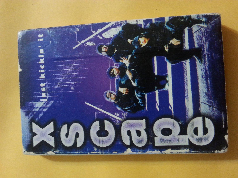 Xscape / Just Kickin' It-1993-Cassette Tape