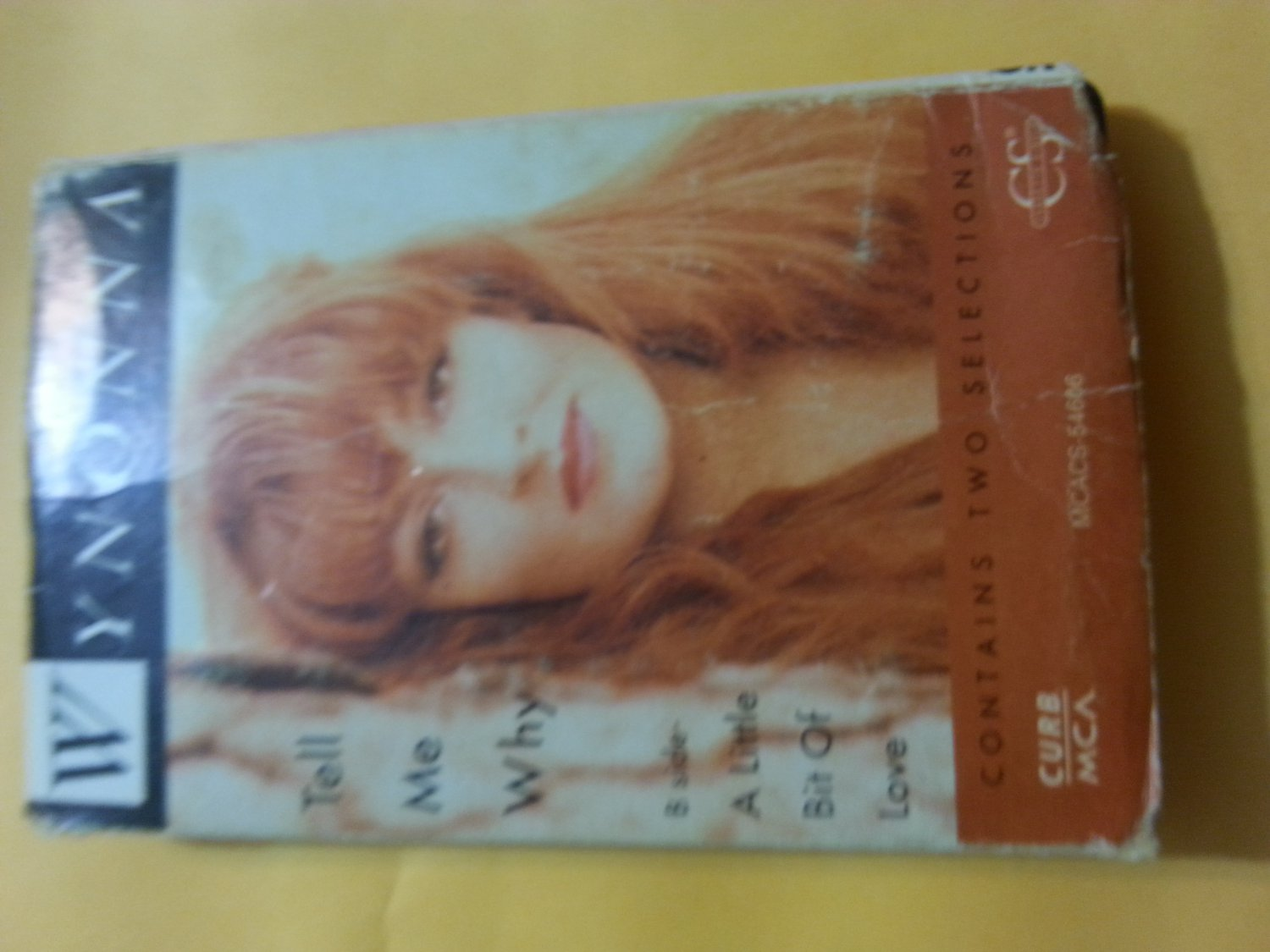 Wynonna Judd : Tell Me Why Cassette Single