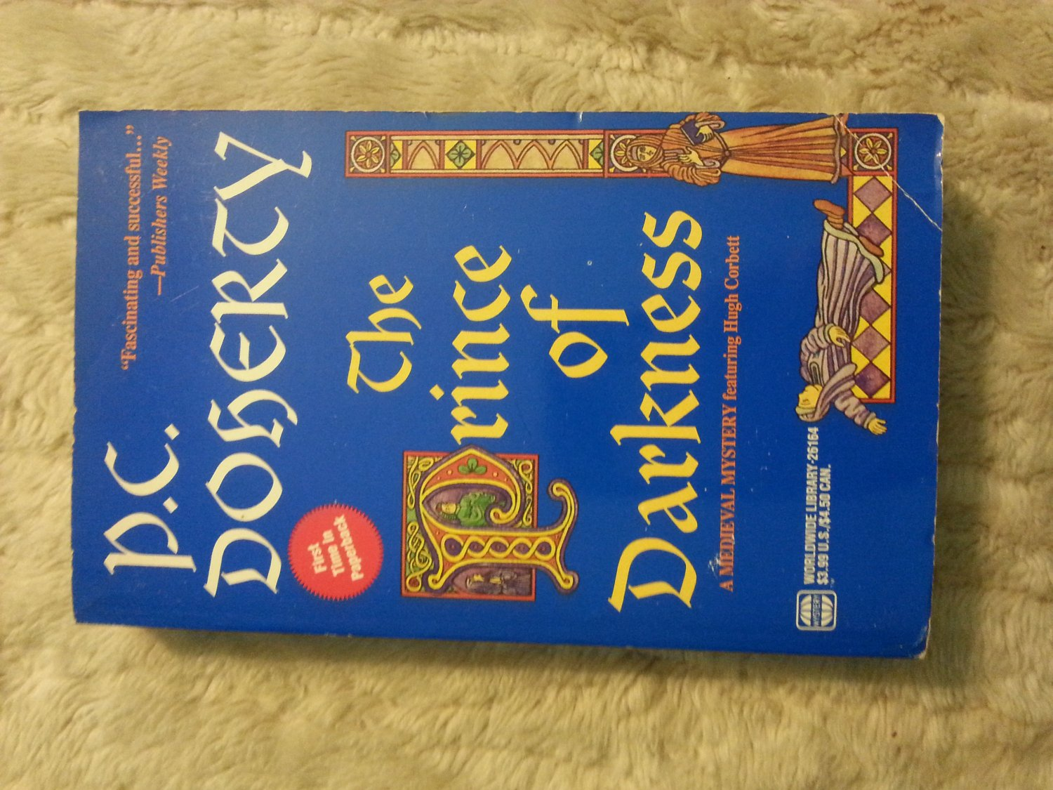 The Prince of Darkness (Hugh Corbett), P. C. Doherty, Paperback Book
