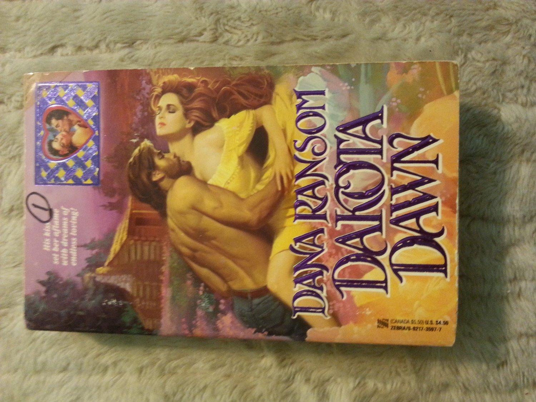 Dakota Dawn by Dana Ransom (1991), 0821735977, Paperback Book