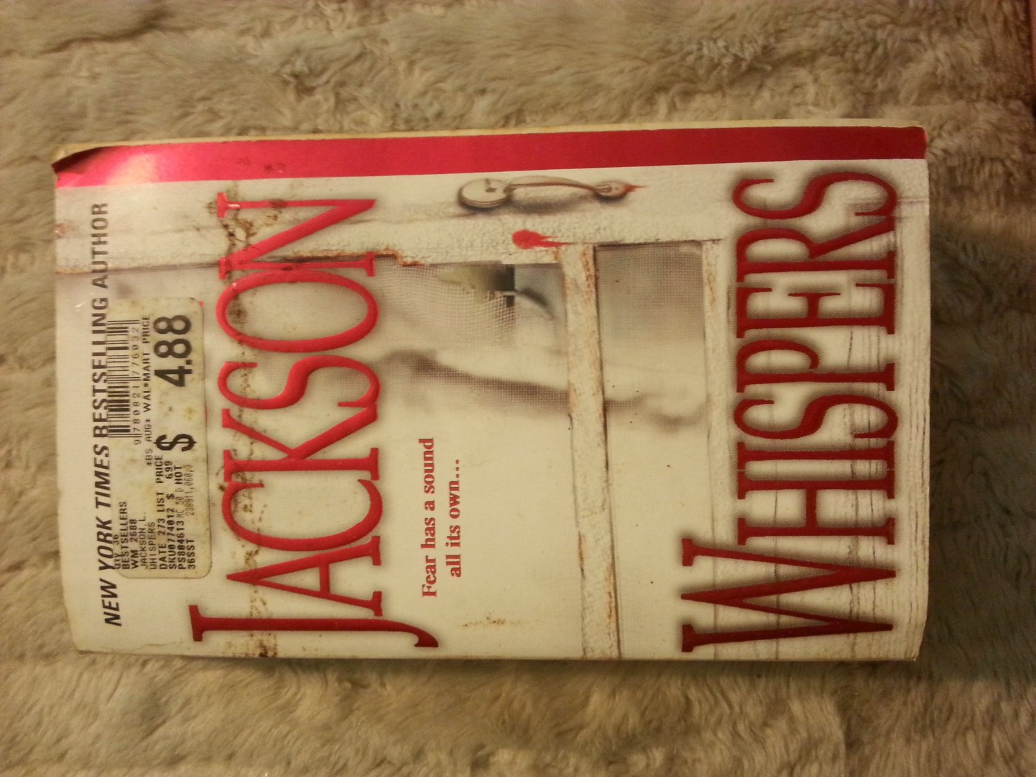 Whispers by Lisa Jackson (2003) Paperback Book ISBN 0821776037
