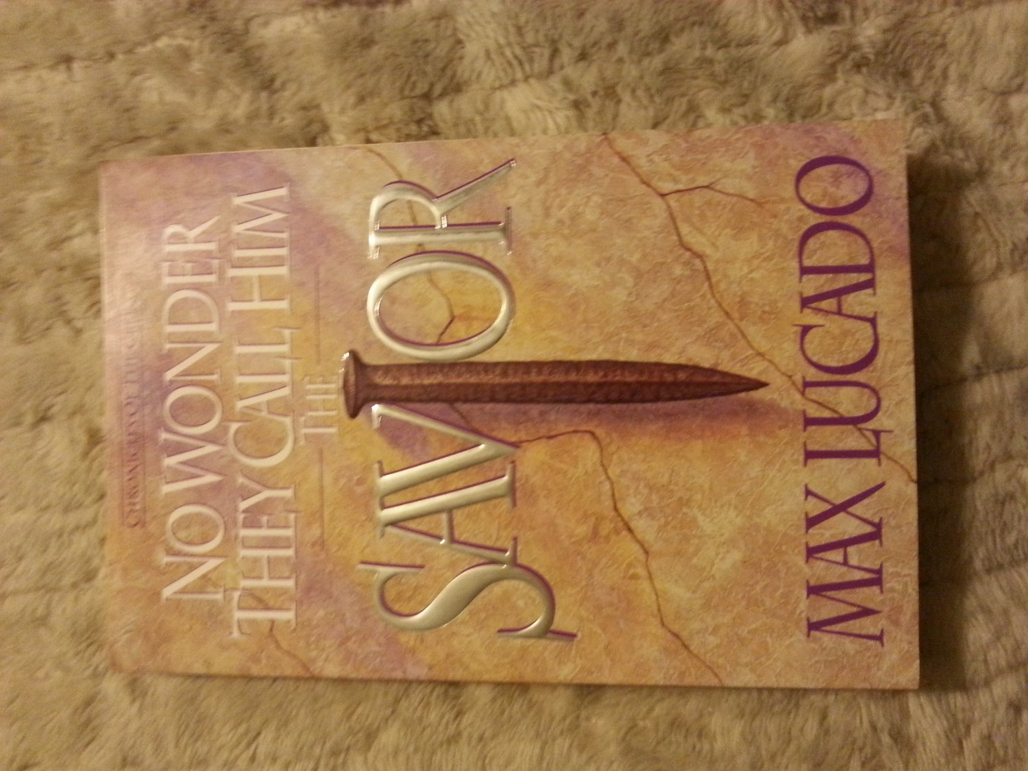 No Wonder They Call Him the Savior - Chronicles of the Cross - Max Lucado Paperback ISBN 0880705760