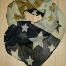 "Chiffon Little Star Women 60""×15"" Scarves Wrap Shawl Scraf"