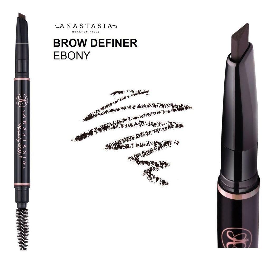 Anastasia Beverly Hills Brow Definer Skinny Brow Ebony Pencil Liner