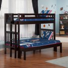 Cascade Twin over Full Bunk Bed by Atlantic