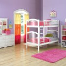 Richmond Twin over Twin White Bunk Bed by Atlantic
