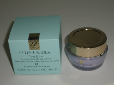 Estee Lauder Time Zone Anti-Line / Wrinkle Eye Creme - All Skintypes .5 oz
