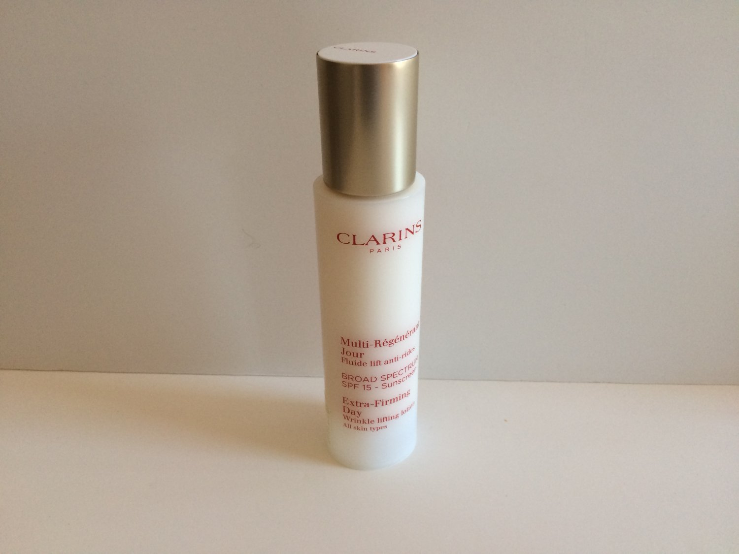 clarins extra firming day wrinkle lifting lotion 1 6 oz brand new unboxed. Black Bedroom Furniture Sets. Home Design Ideas