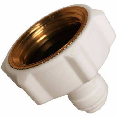 "Garden Hose Adapter with 1/4"""" Quick Connect"