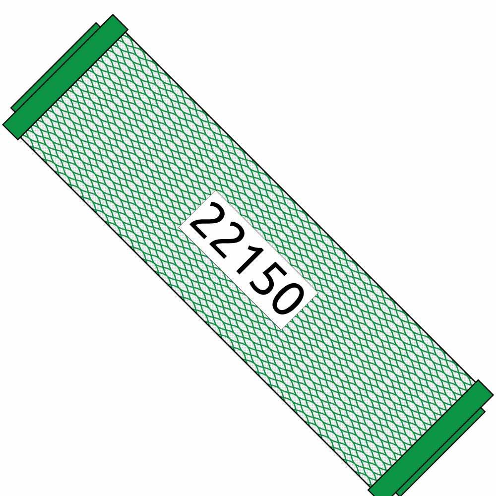 10-inch Green Carbon Filter for Triton RO|DI #22150