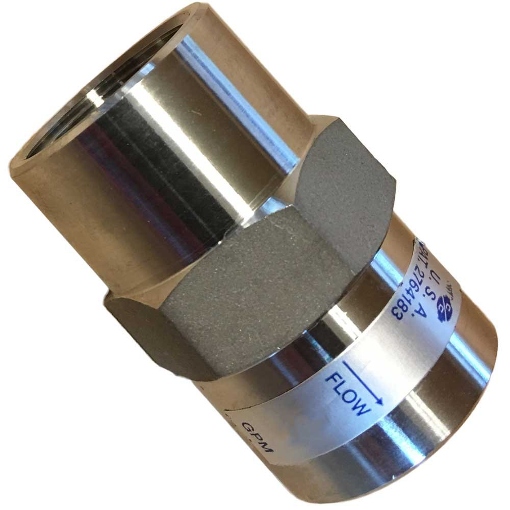 Stainless Steel Flow Control 3/4-inch