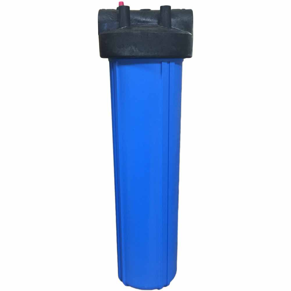 "20-inch Big Blue Filter Housing with 1"""" Ports & Pressure Release"