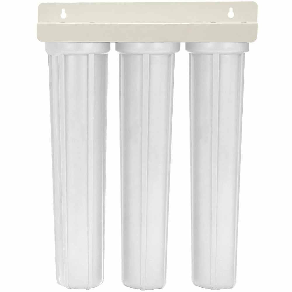 20-inch 3 Stage Slimline Whole House Filter