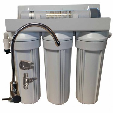 """4 Stage 10""""""""; Drinking Water Filter with UV Sterilizer"""