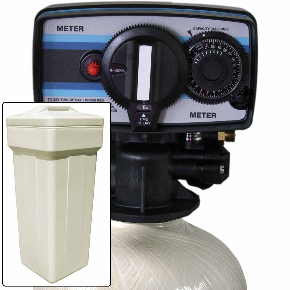 Iron Pro Plus 32k Fine Mesh Water Softener PLUS KDF85 with Fleck 5600