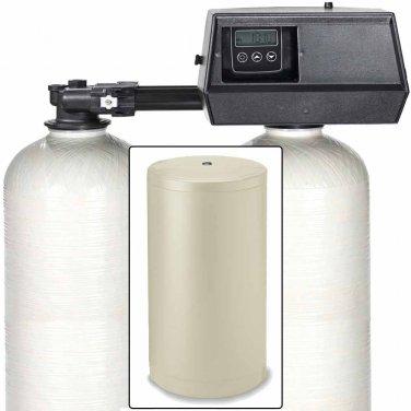 48k Digital Dual Tank Alternating Water Softener with Fleck 9100SXT