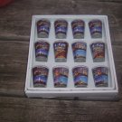 new york shot glasses wholesale lot 12 new GREAT BUY FREE SHIPPING!!
