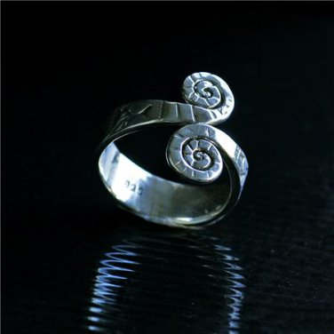 Beautiful And Unique Silver Ring - Tribal Jewelry - Ethnic Jewelry - Unisex Jewelry