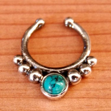 Fake Septum Ring - Faux Septum Ring - Fake Septum Piercing - Nose Jewelry - Septum Jewelry
