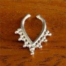 Fake Septum Ring - Faux Septum Ring - Fake Septum Piercing - Nose Jewelry - Septum Jewelr